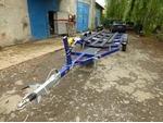 Продам прицеп легковой  для лодки 2 оси в Крыму
