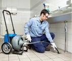 Прочистка канализационных труб от засоров
