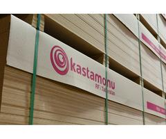 МДФ плита производства Kastamonu на оптовом складе в Симферополе