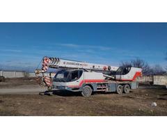 Аренда автокрана  32 тонны, стрела 40,5 метра