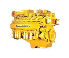 Запчасти на двигателя Komatsu 6D114E, 6D102
