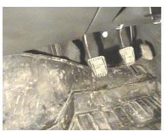 Тоннель торпеды, тяги рулевые, стабилизатор нижний, печка ВАЗ-2110 - ВАЗ-2112.
