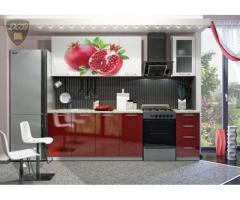 Кухня с фотопечатью Гранат 2,0