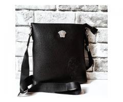 Мужская сумка Versace (Отличный подарок)