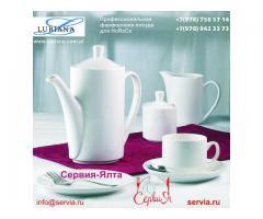 Профессиональная фарфоровая посуда для ресторана в Крыму. Сервия-Ялта