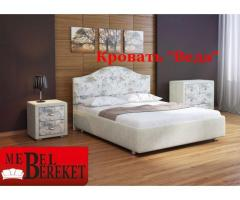Кровать экокожа Веда
