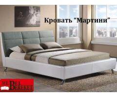Кровать экокожа Мартини