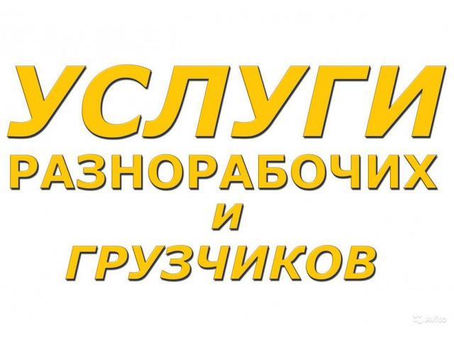 Услуги разнорабочих - 1/1