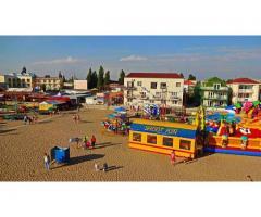 Отдых Прибой Саки Крым снять жилье возле моря