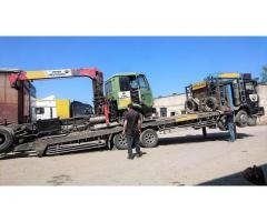 Грузовые перевозки габаритные и негабаритные, услуги крана-манипулятора, грузового эвакуатора и спец