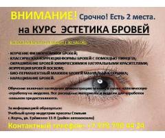Курсы Эстетика бровей г. Керчь