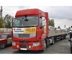 В аренду тягач грузовой Renault Premium с полуприцепом (до 20 т)