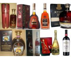 Молдавский алкоголь в ассортименте
