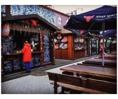 Большие зонты 3х3 м., 4х4 м. 5х5 м. для кафе, ресторанов