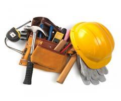Строительные работы, внешняя и внутренняя отделка