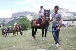Конные прогулки по горному Крыму.