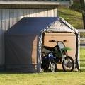 Тентовый гараж